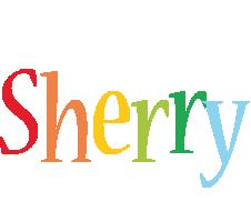 Sherry birthday logo