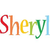 Sheryl birthday logo
