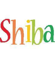 Shiba birthday logo