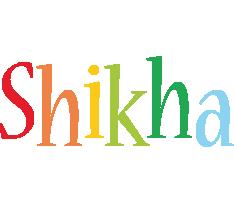 Shikha birthday logo