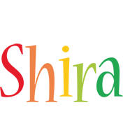 Shira birthday logo