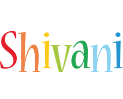 Shivani birthday logo