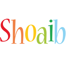 Shoaib birthday logo