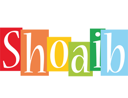 Shoaib colors logo