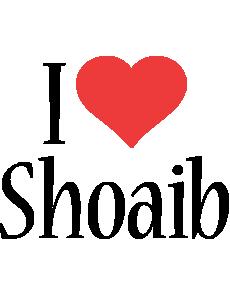 Shoaib i-love logo