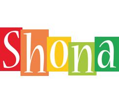 Shona colors logo