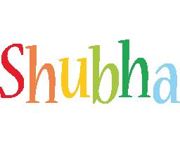 Shubha birthday logo