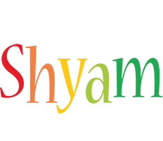 Shyam birthday logo