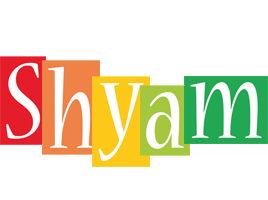 Shyam colors logo