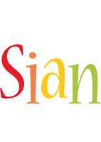 Sian birthday logo