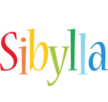 Sibylla birthday logo