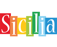 Sicilia colors logo