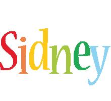 Sidney birthday logo