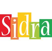 Sidra colors logo