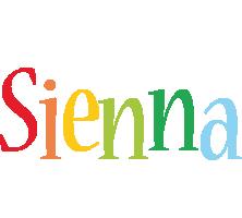 Sienna birthday logo