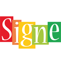 Signe colors logo