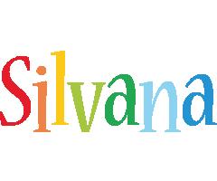 Silvana birthday logo