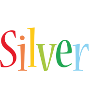Silver birthday logo