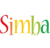 Simba birthday logo