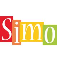 Simo colors logo