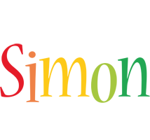 Simon birthday logo