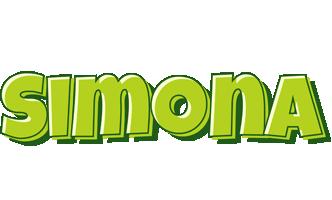 Simona summer logo