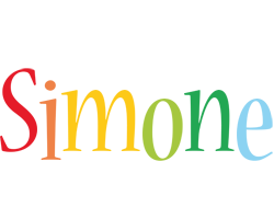 Simone birthday logo