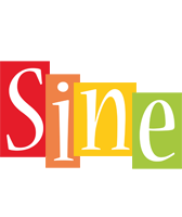 Sine colors logo
