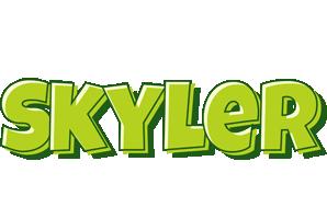 Skyler summer logo