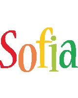 Sofia birthday logo