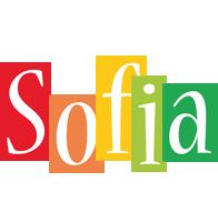 Sofia colors logo