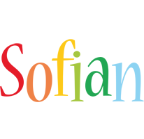 Sofian birthday logo