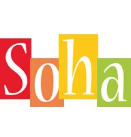 Soha colors logo