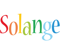 Solange birthday logo