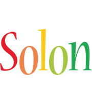 Solon birthday logo