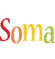 Soma birthday logo