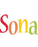 Sona birthday logo