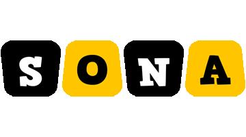 Sona boots logo