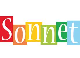 Sonnet colors logo