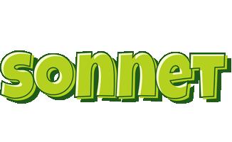 Sonnet summer logo