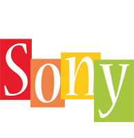 Sony colors logo
