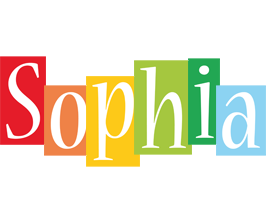 Sophia colors logo