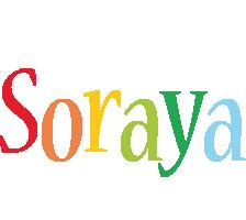 Soraya birthday logo