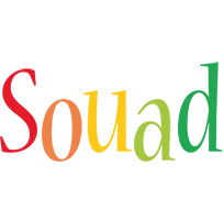 Souad birthday logo