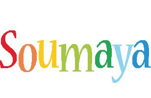 Soumaya birthday logo