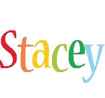Stacey birthday logo