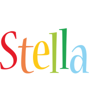 Stella birthday logo