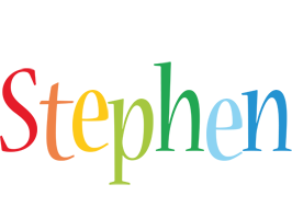 Stephen birthday logo