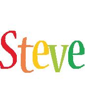Steve birthday logo