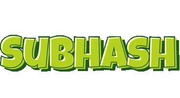 Subhash summer logo